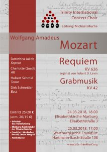 Plakat Mozart 2018