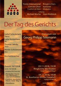 Plakat Telemann 2018